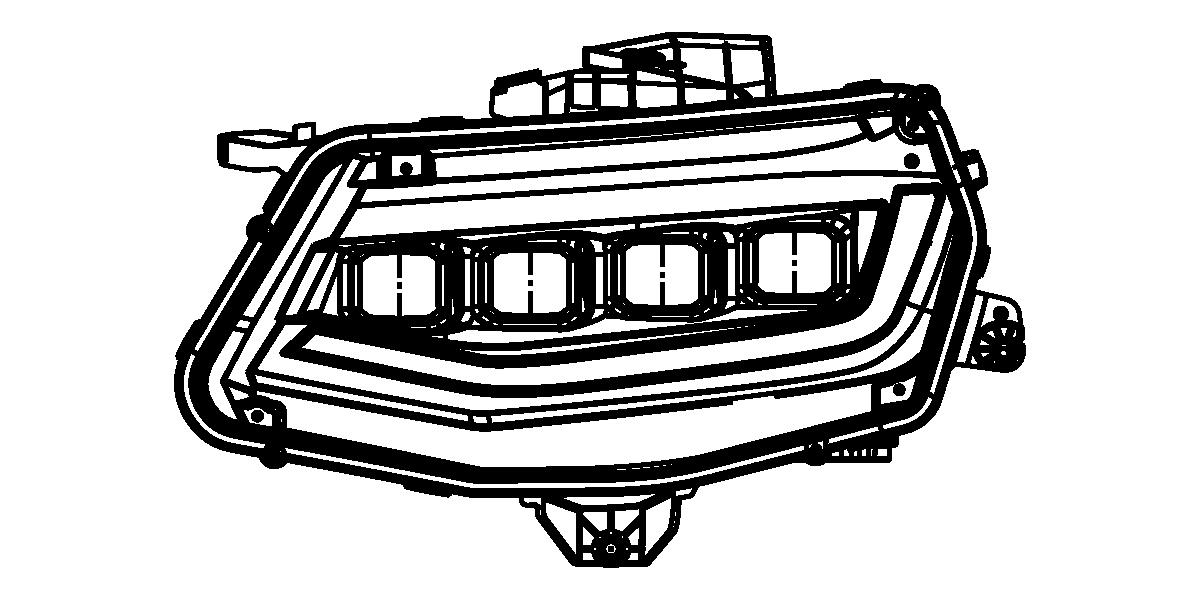XB LED Headlights Chevrolet Camaro (16-18) I Xenon Depot
