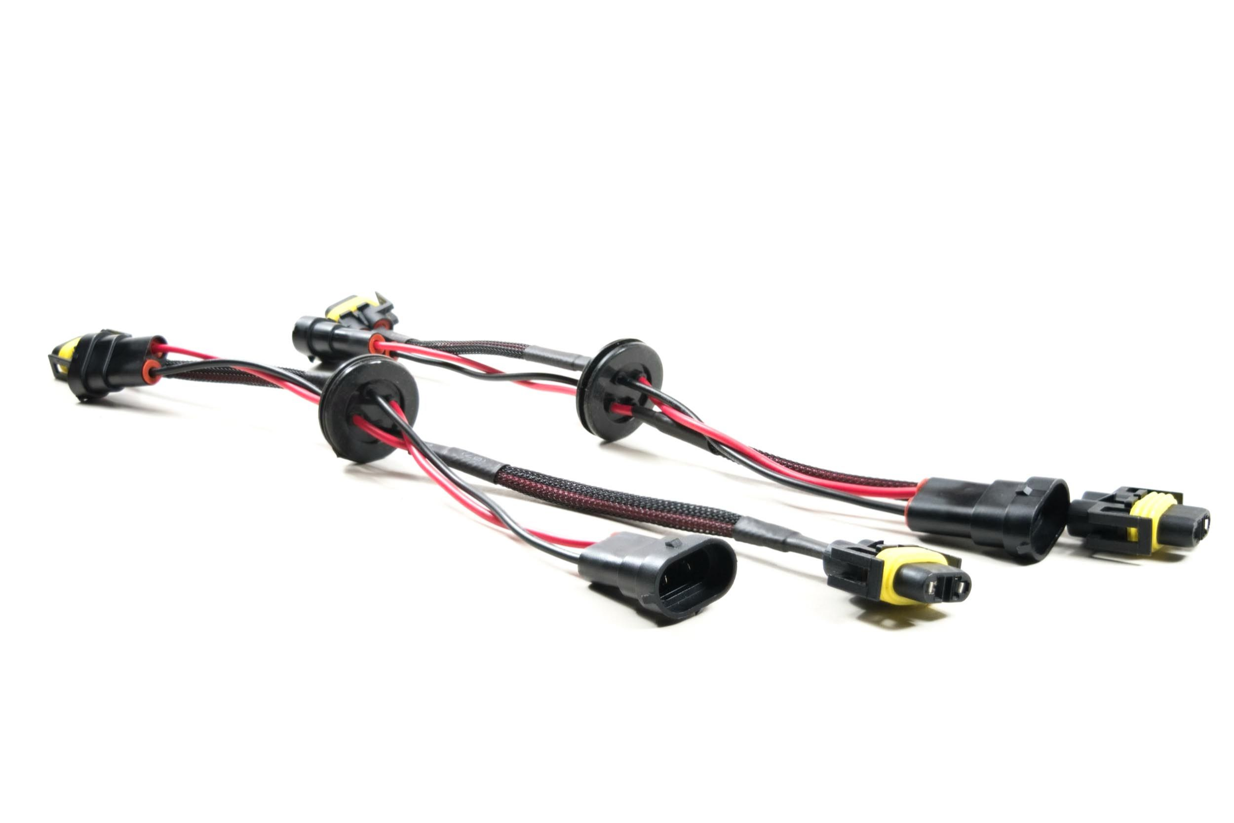 9006 Style Pass-Through Harnesses w Grommet Pro Wiring I XD