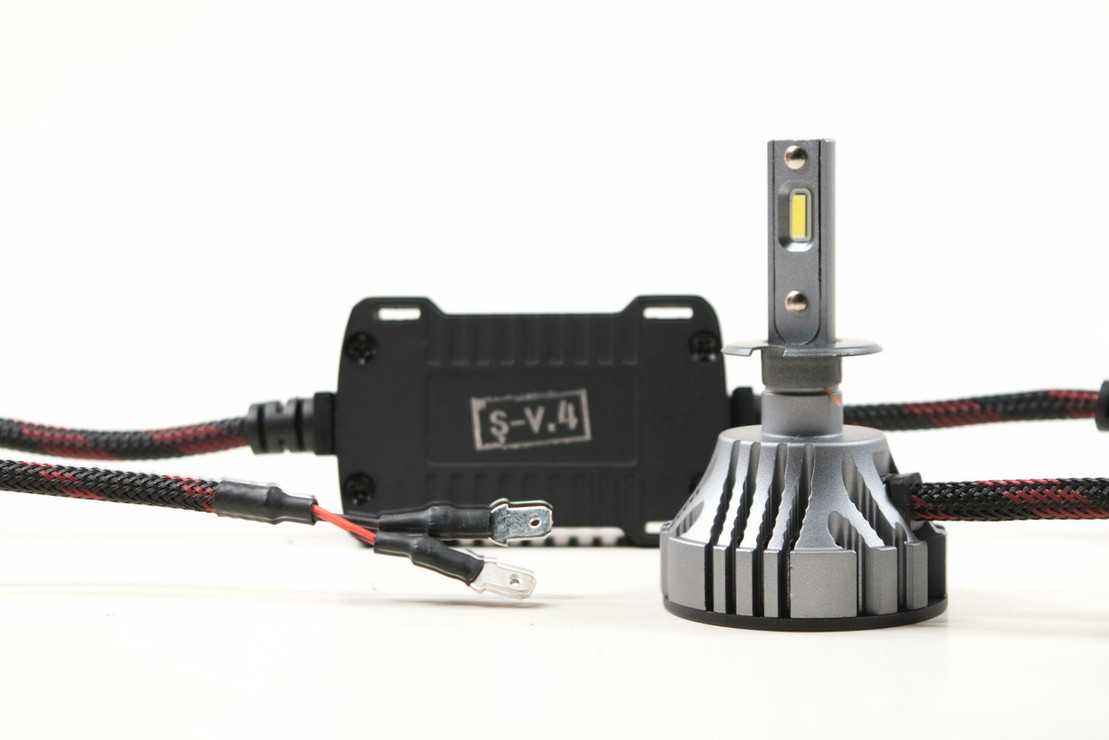 H3: S-V.4 | LED Headlight Bulbs